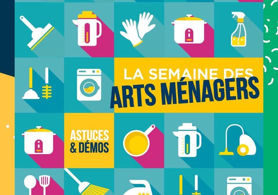"""SEMAINE DES ARTS MENAGERS """"CARREFOUR STE ZUSANNE 2021"""